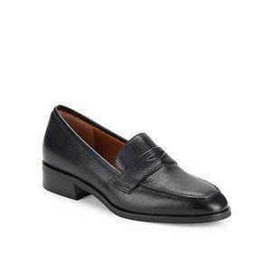 AQUATALIA New 7.5 8 Sharon Leather Penny Loafers